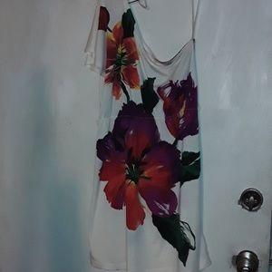 Beautiful paint splattered dress